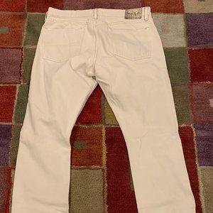 Polo Ralph Lauren Denim Slim Straight Bone Jeans